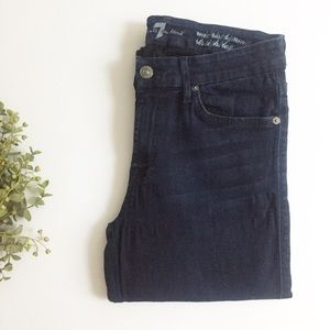7 for all Mankind Kimmie Straight Leg Jeans - 29
